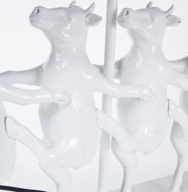 Kare Table Lamp Dancing Cows