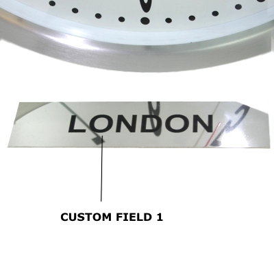 Custom Signs Available In Our Custom Timezone Section