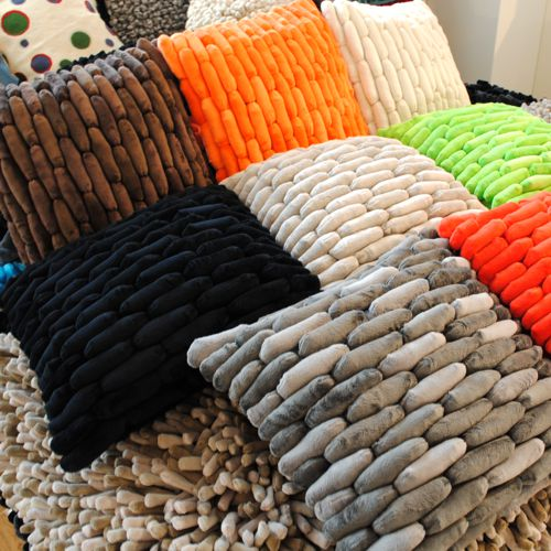 Dreamweavers Cobble Cushions All Colours