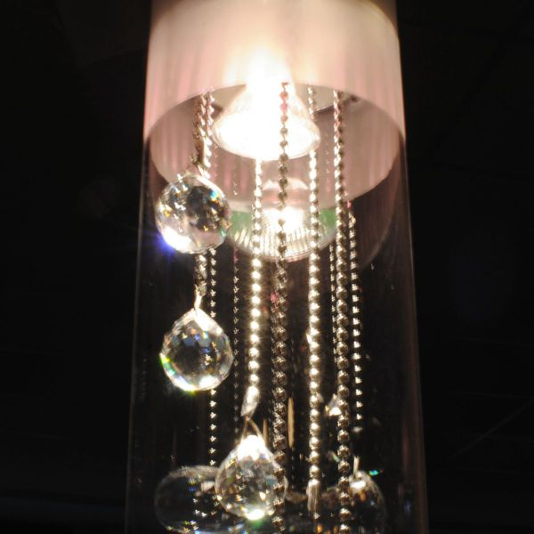 Crystal Drop Pendant Light