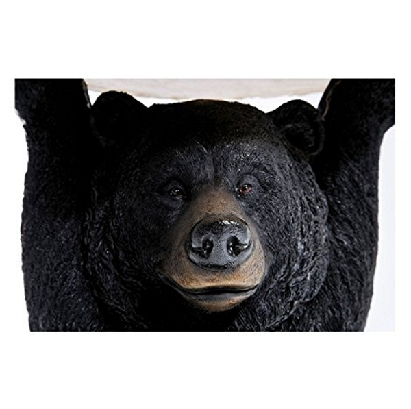 Close up Black Bear Side Table