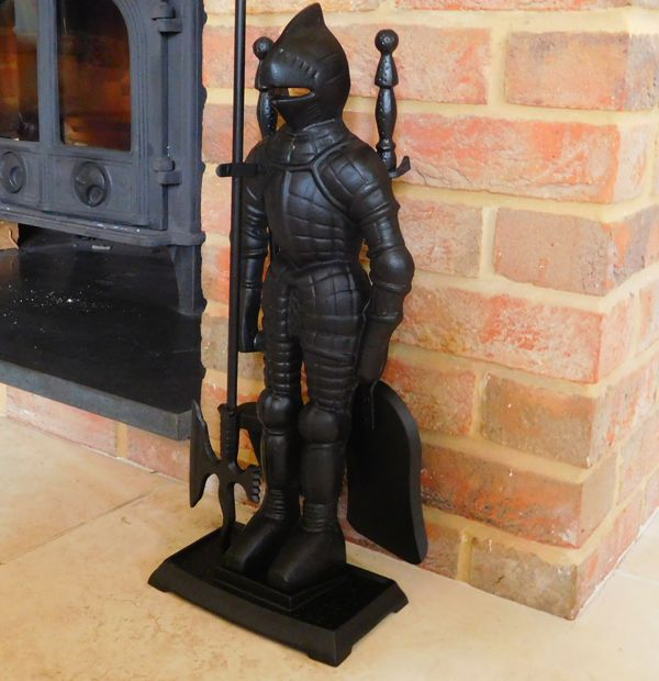 situ-English Knight Fireside Tool Companion Set