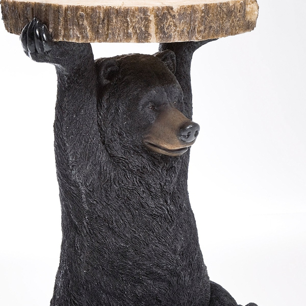 Side Black Bear Side Table